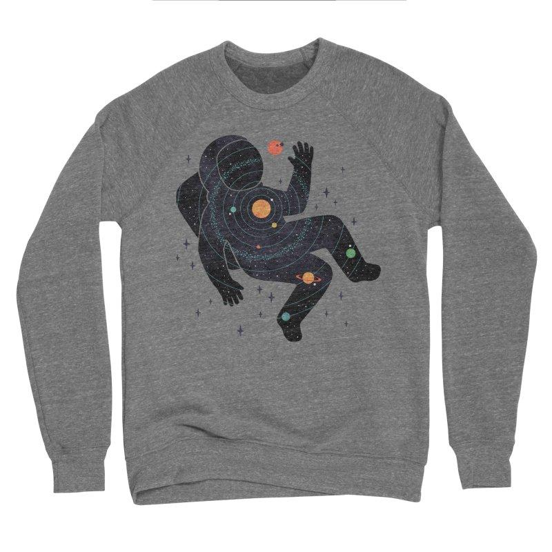 Inner Space Men's Sponge Fleece Sweatshirt by thepapercrane's shop