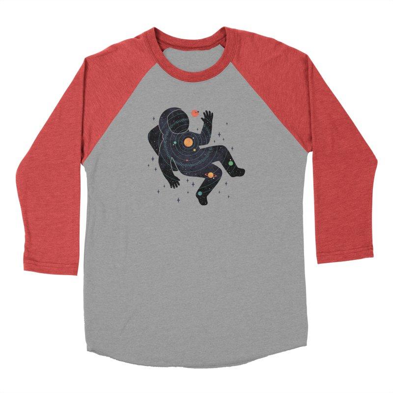 Inner Space Men's Baseball Triblend Longsleeve T-Shirt by thepapercrane's shop