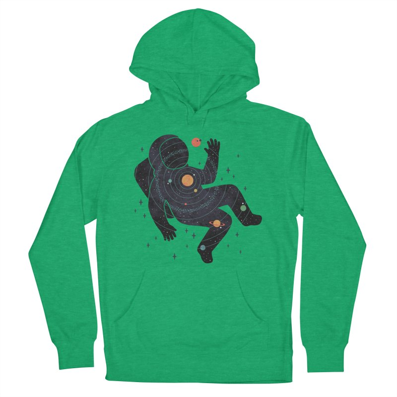 Inner Space Women's French Terry Pullover Hoody by thepapercrane's shop