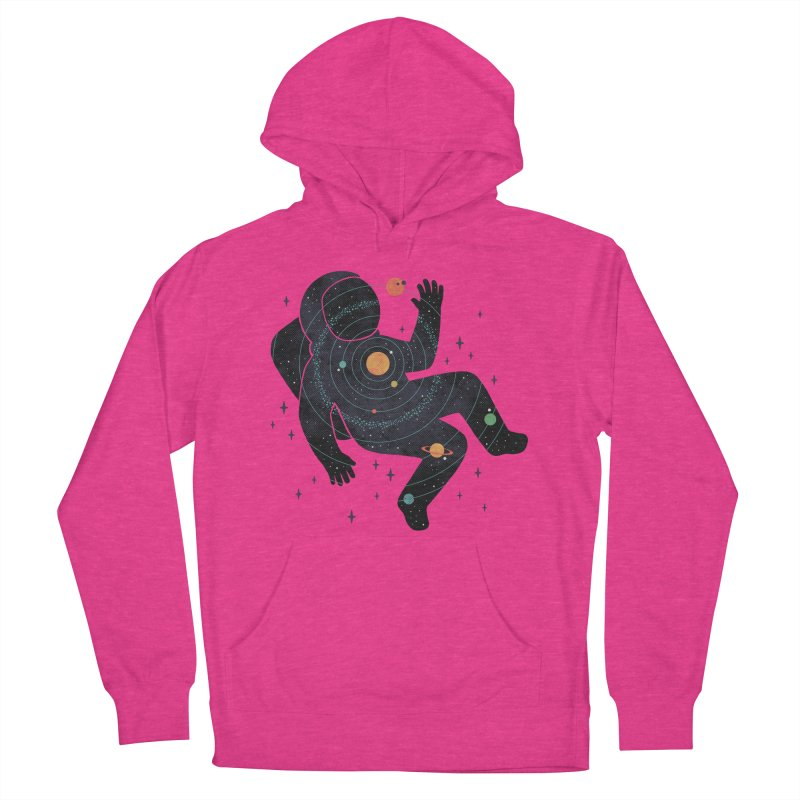 Inner Space Men's French Terry Pullover Hoody by thepapercrane's shop
