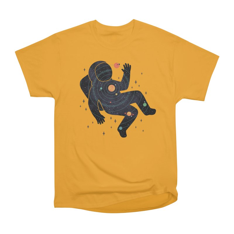 Inner Space Women's Heavyweight Unisex T-Shirt by thepapercrane's shop