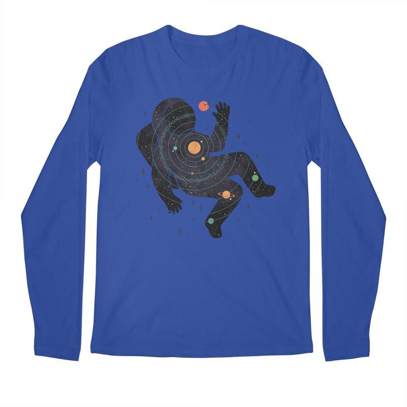 Inner Space Men's Regular Longsleeve T-Shirt by thepapercrane's shop