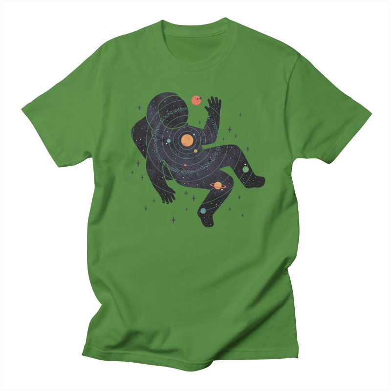Inner Space Women's Regular Unisex T-Shirt by thepapercrane's shop