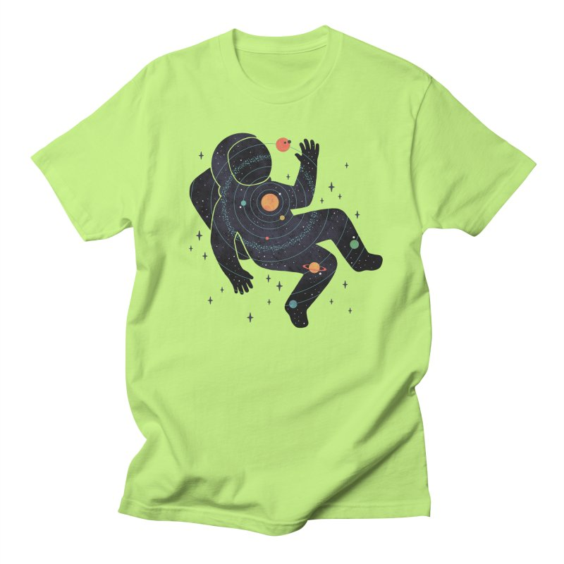Inner Space Men's Regular T-Shirt by thepapercrane's shop