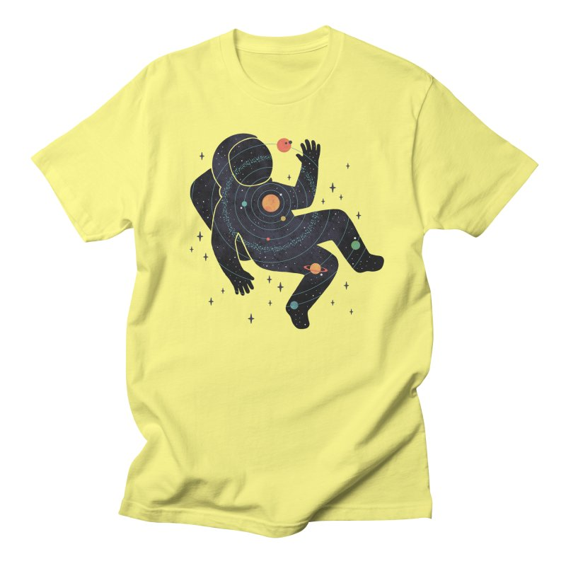 Inner Space Men's Regular T-Shirt by thepapercrane's shop