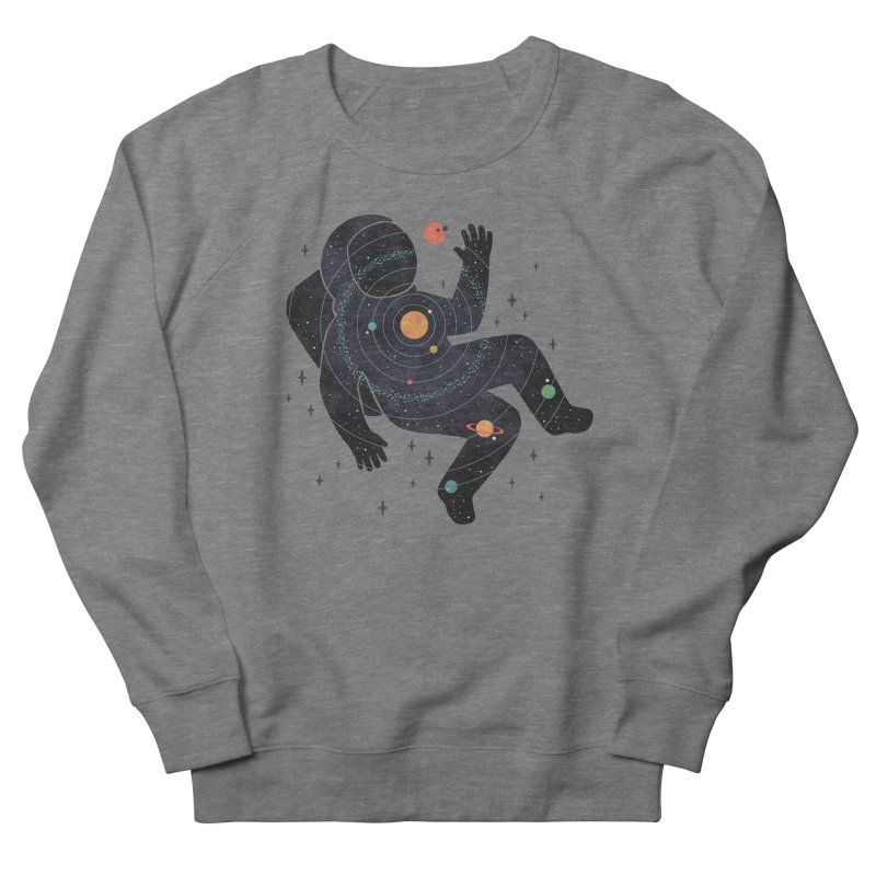 Inner Space Women's French Terry Sweatshirt by thepapercrane's shop