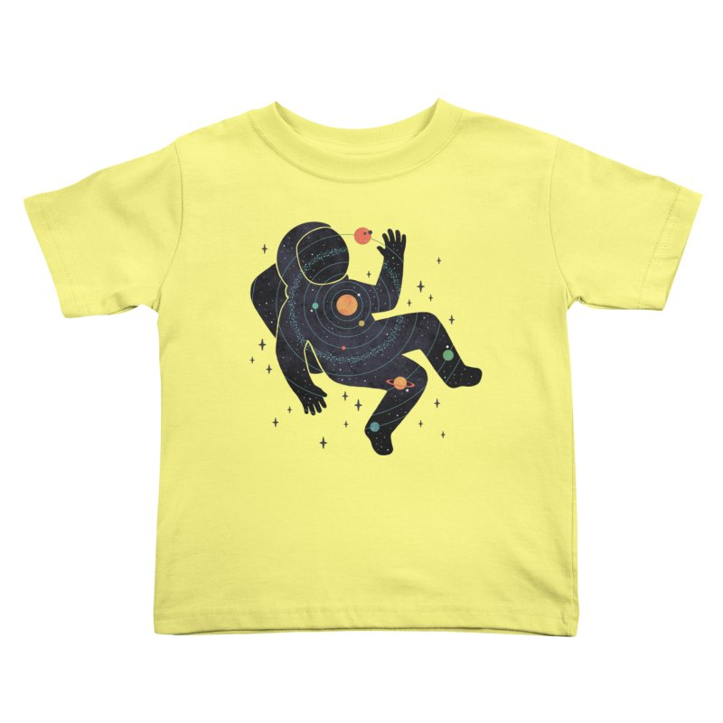 Inner Space Kids Toddler T-Shirt by thepapercrane's shop