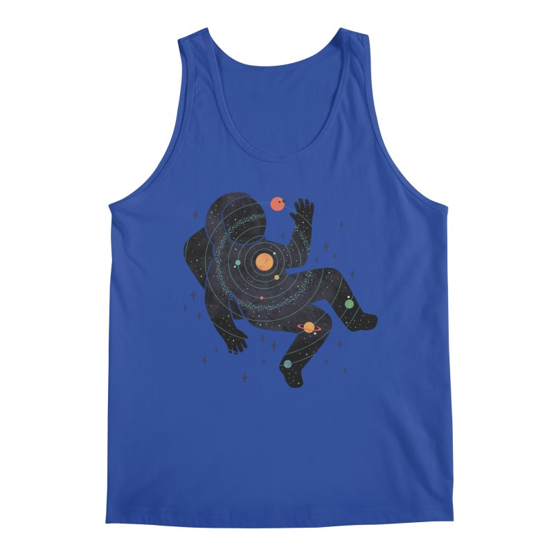 Inner Space Men's Regular Tank by thepapercrane's shop
