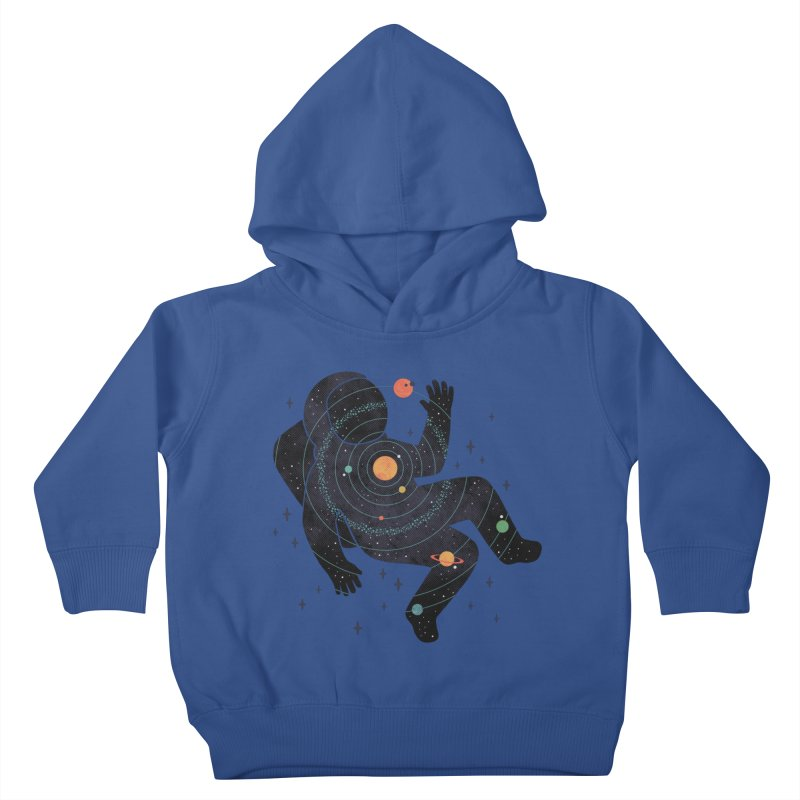 Inner Space Kids Toddler Pullover Hoody by thepapercrane's shop