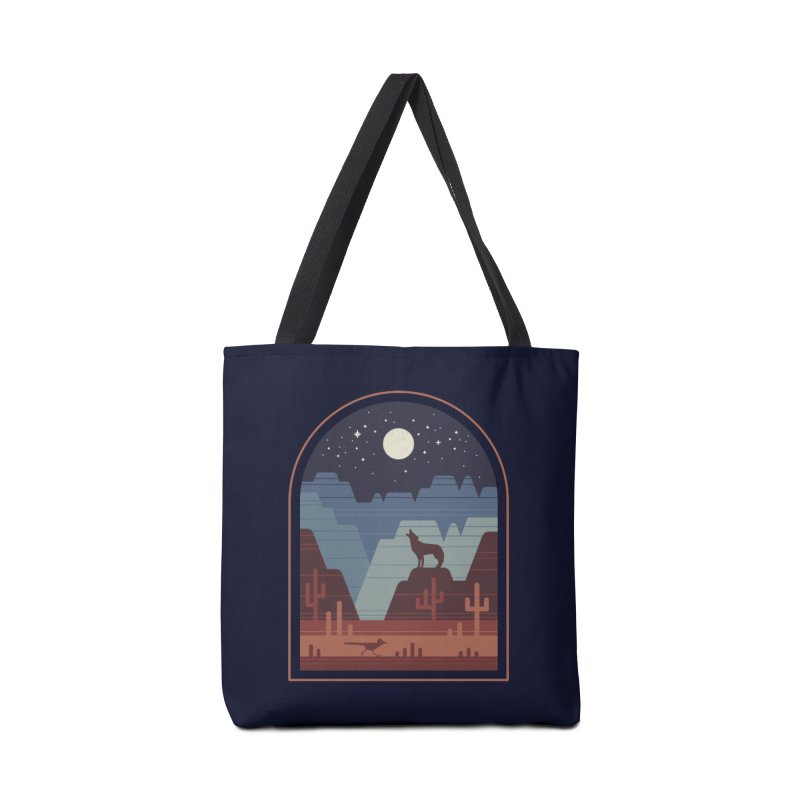Wild Night Accessories Tote Bag Bag by thepapercrane's shop