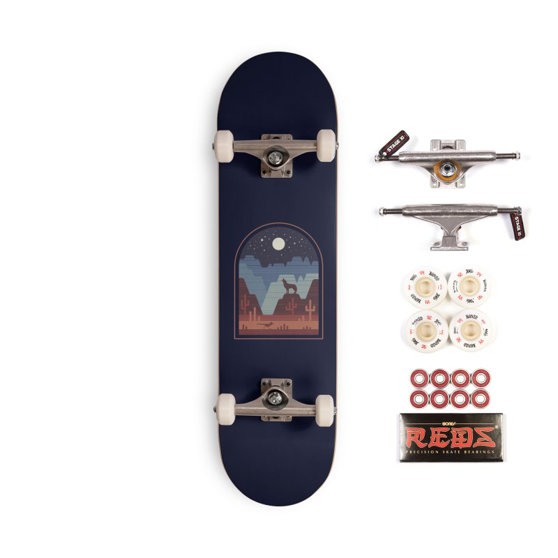 Wild Night Accessories Complete - Pro Skateboard by thepapercrane's shop