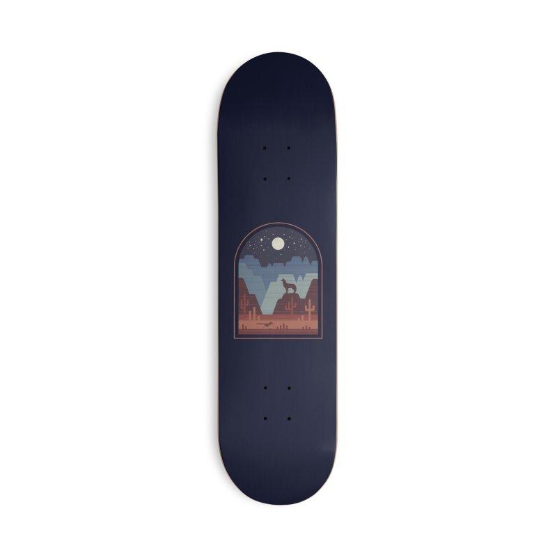 Wild Night Accessories Skateboard by thepapercrane's shop