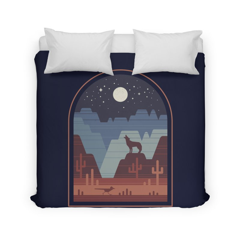 Wild Night Home Duvet by thepapercrane's shop