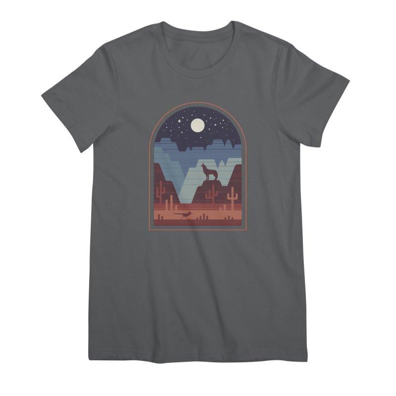 Wild Night Women's Premium T-Shirt by thepapercrane's shop