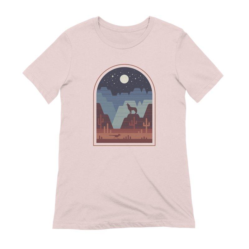 Wild Night Women's Extra Soft T-Shirt by thepapercrane's shop