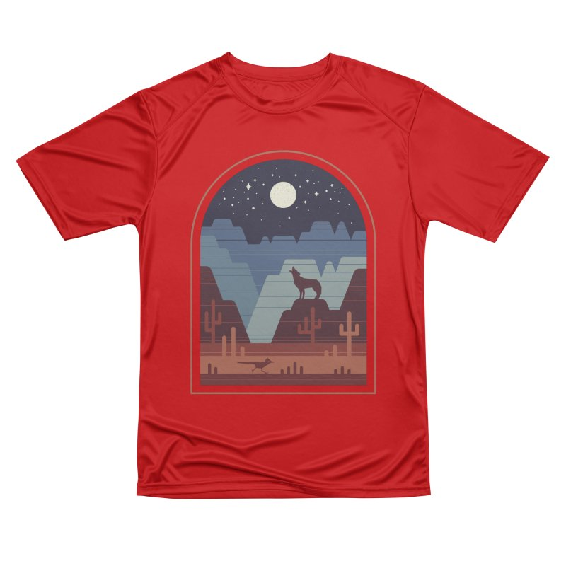 Wild Night Men's Performance T-Shirt by thepapercrane's shop