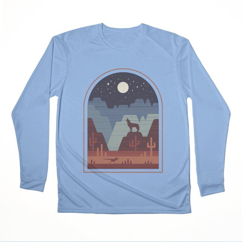 Wild Night Women's Performance Unisex Longsleeve T-Shirt by thepapercrane's shop