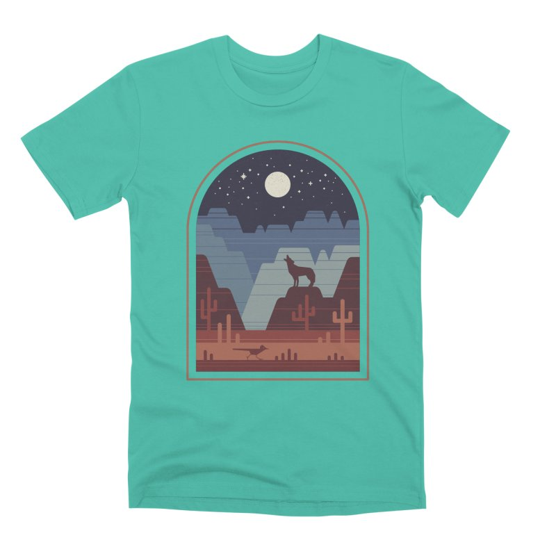 Wild Night Men's Premium T-Shirt by thepapercrane's shop