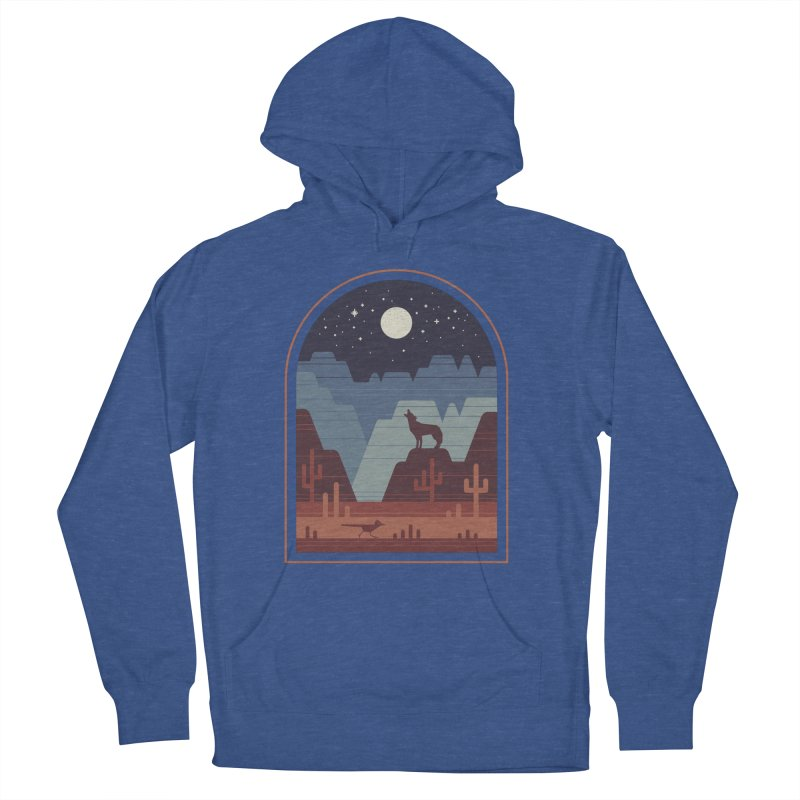 Wild Night Women's French Terry Pullover Hoody by thepapercrane's shop