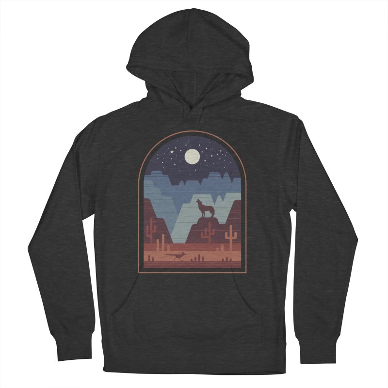 Wild Night Men's French Terry Pullover Hoody by thepapercrane's shop