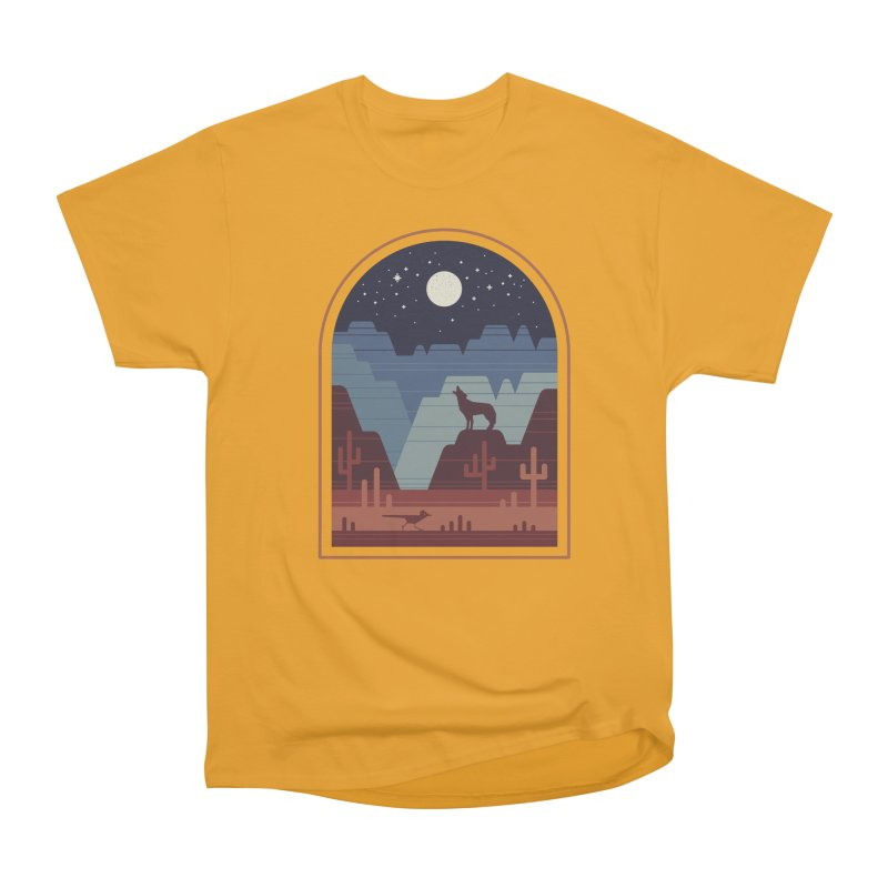 Wild Night Women's Heavyweight Unisex T-Shirt by thepapercrane's shop