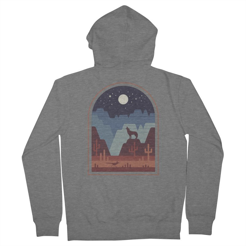 Wild Night Men's French Terry Zip-Up Hoody by thepapercrane's shop