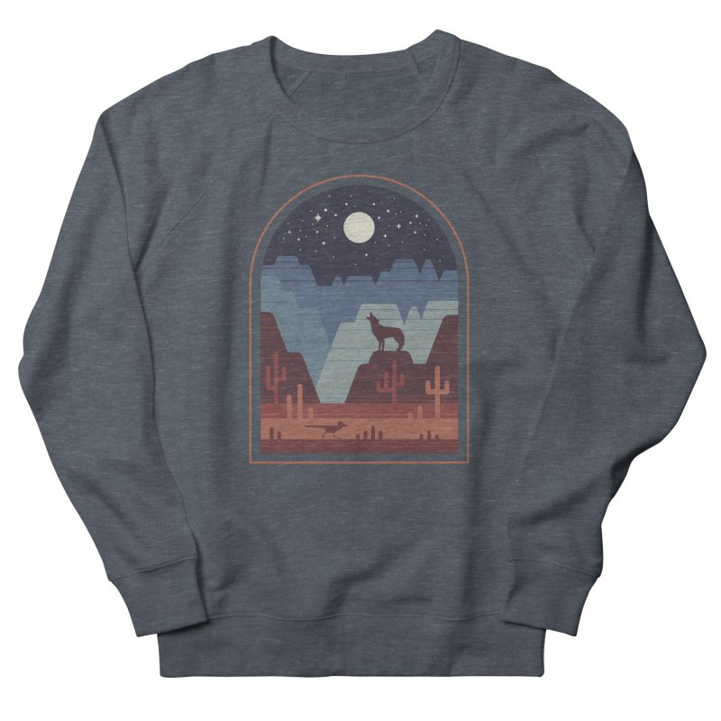 Wild Night Men's French Terry Sweatshirt by thepapercrane's shop