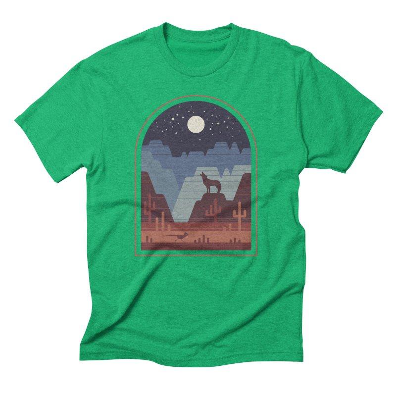 Wild Night Men's Triblend T-Shirt by thepapercrane's shop