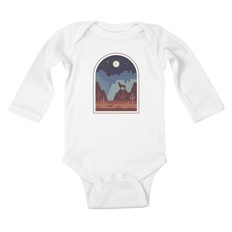Wild Night Kids Baby Longsleeve Bodysuit by thepapercrane's shop