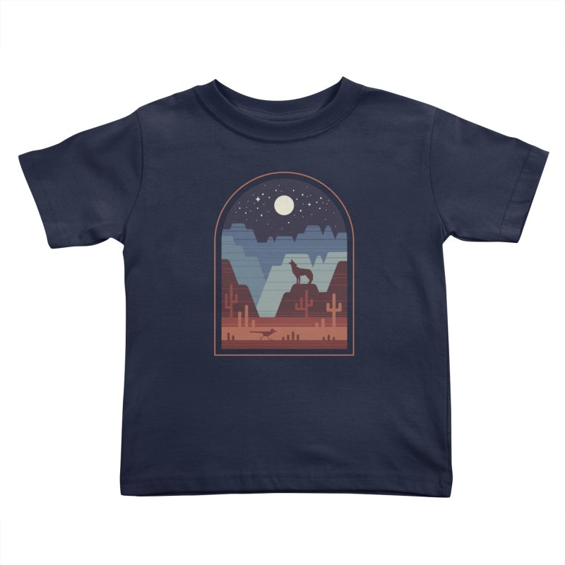 Wild Night Kids Toddler T-Shirt by thepapercrane's shop