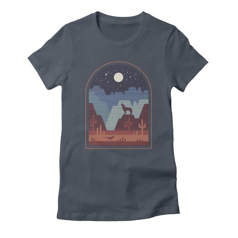 Wild Night Women's T-Shirt by thepapercrane's shop