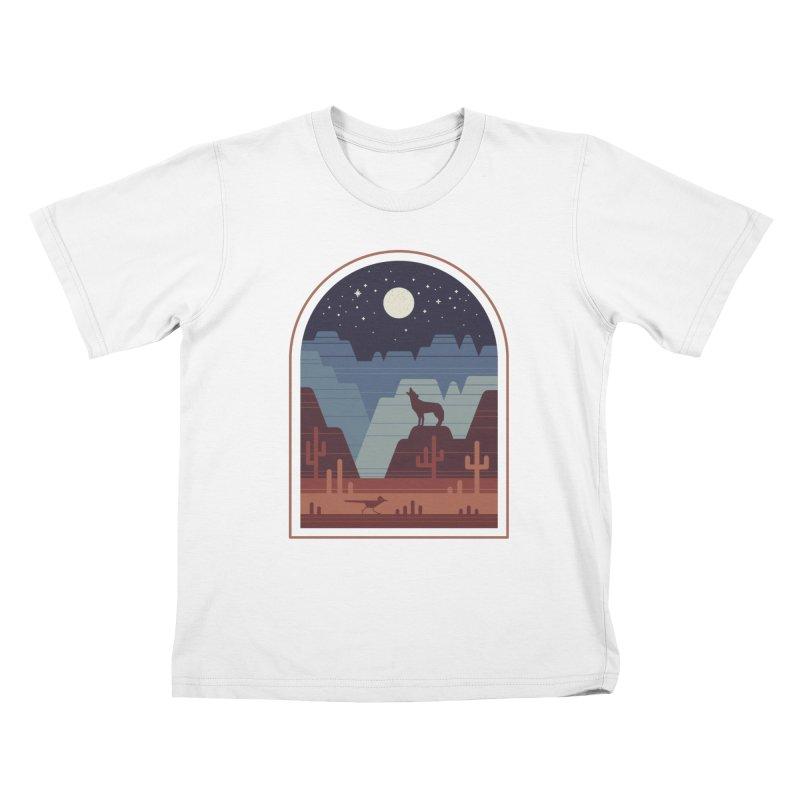 Wild Night Kids T-Shirt by thepapercrane's shop