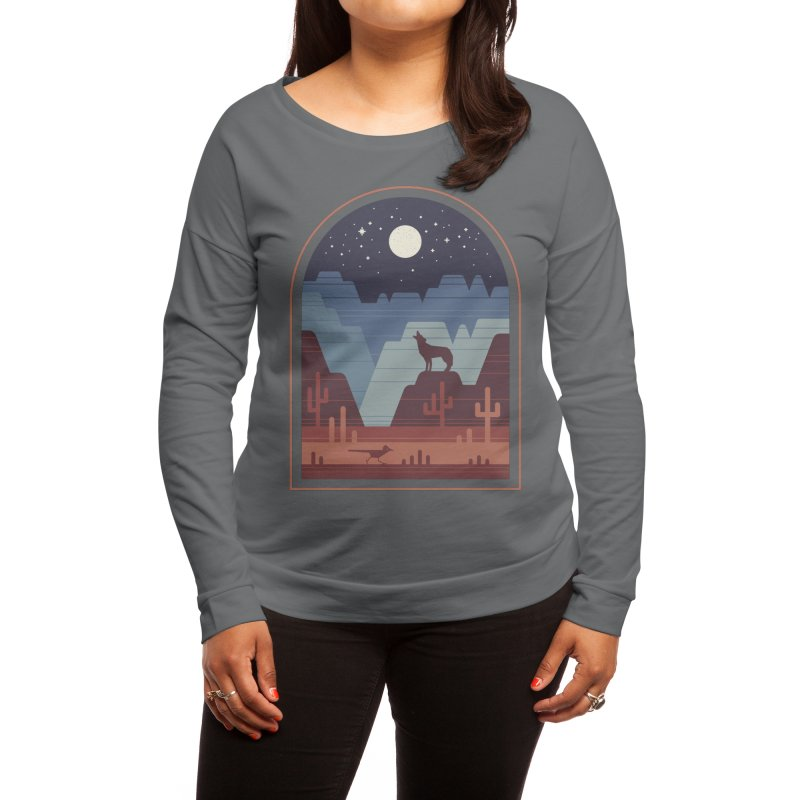 Wild Night Women's Longsleeve T-Shirt by thepapercrane's shop