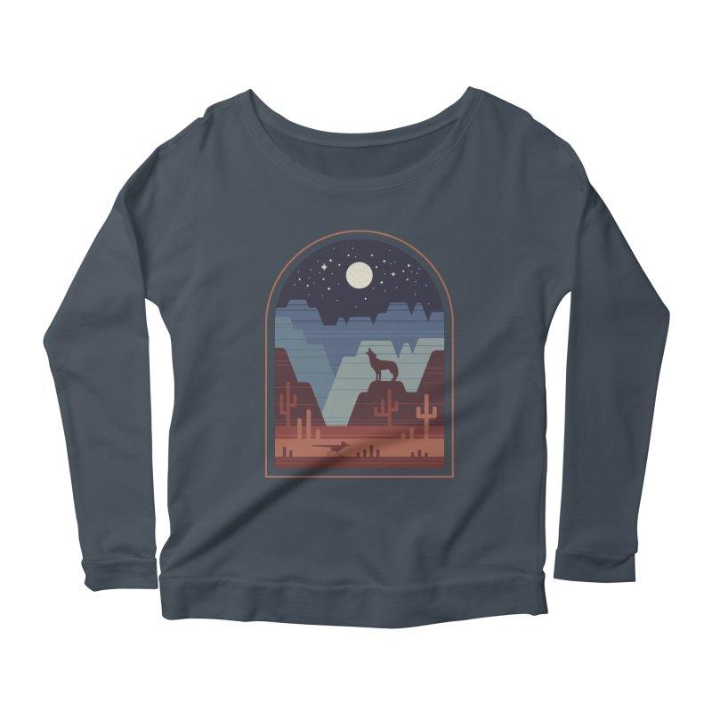 Wild Night Women's Scoop Neck Longsleeve T-Shirt by thepapercrane's shop