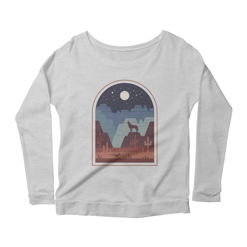 Wild Night Women's Scoop Neck Longsleeve T-Shirt by thepapercrane's shop