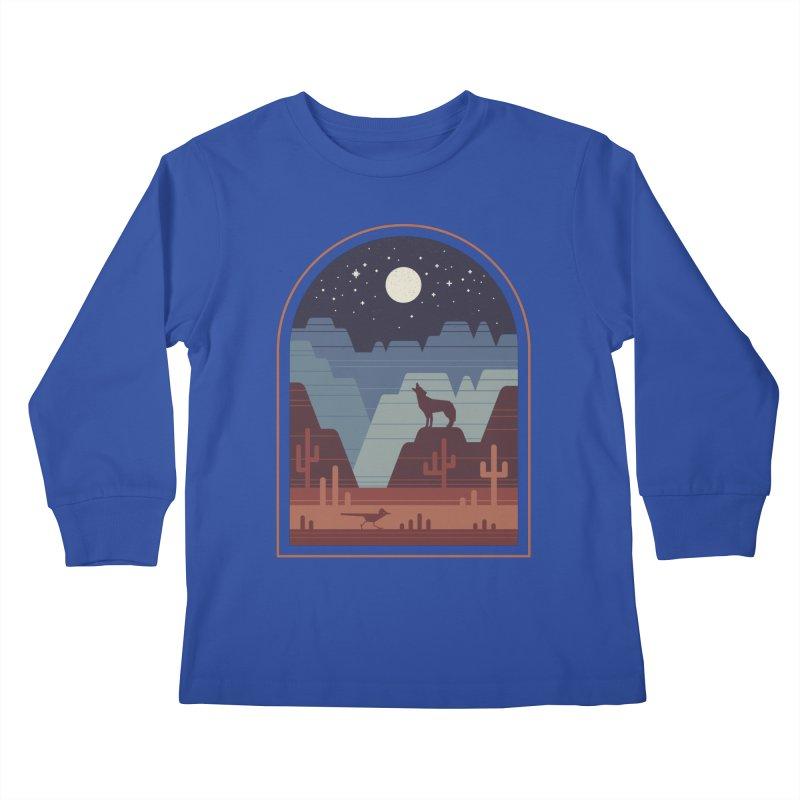 Wild Night Kids Longsleeve T-Shirt by thepapercrane's shop