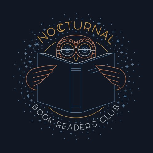 Design for Nocturnal Book Readers Club