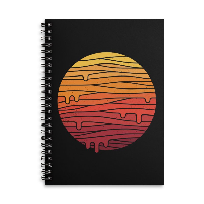 Heat Wave Accessories Lined Spiral Notebook by thepapercrane's shop