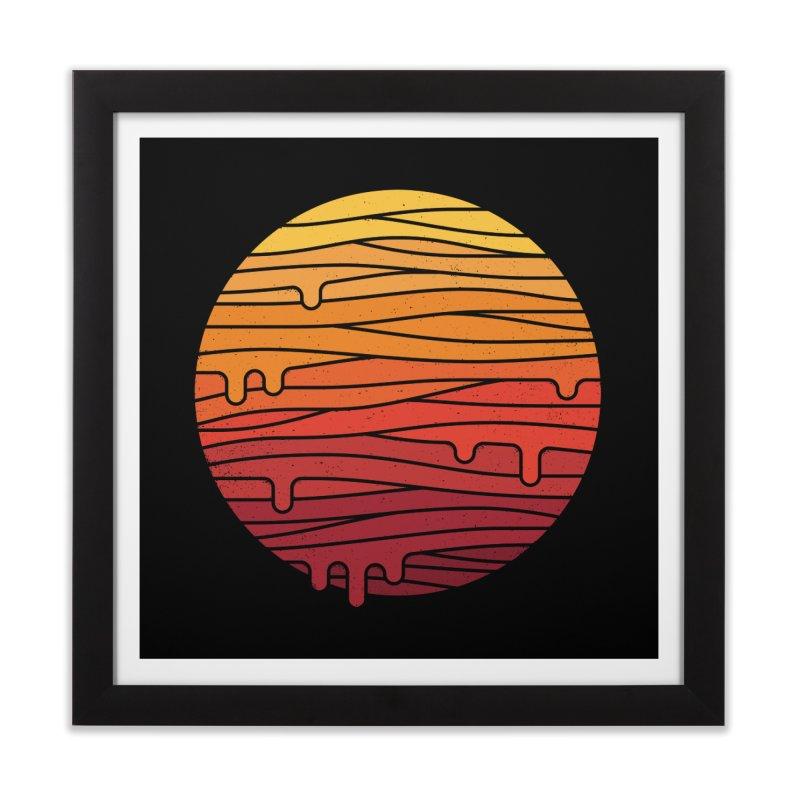 Heat Wave Home Framed Fine Art Print by thepapercrane's shop