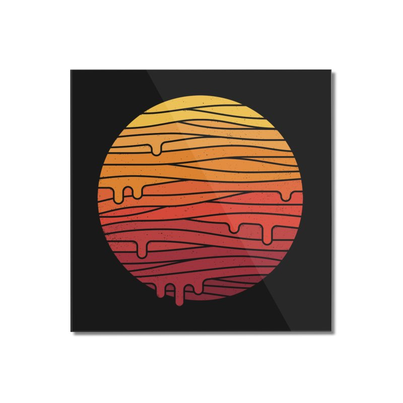 Heat Wave Home Mounted Acrylic Print by thepapercrane's shop