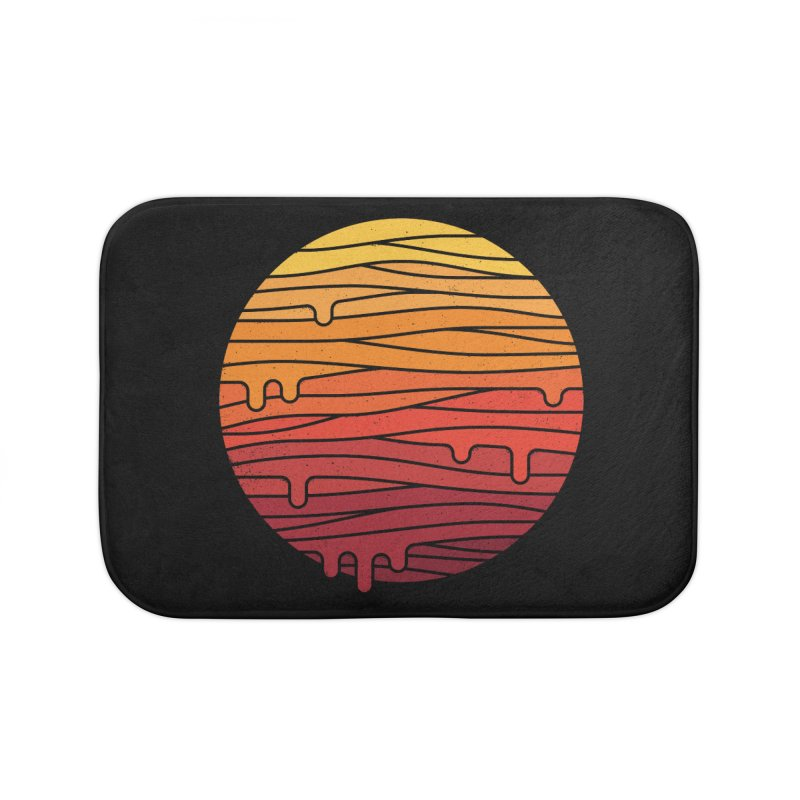 Heat Wave Home Bath Mat by thepapercrane's shop