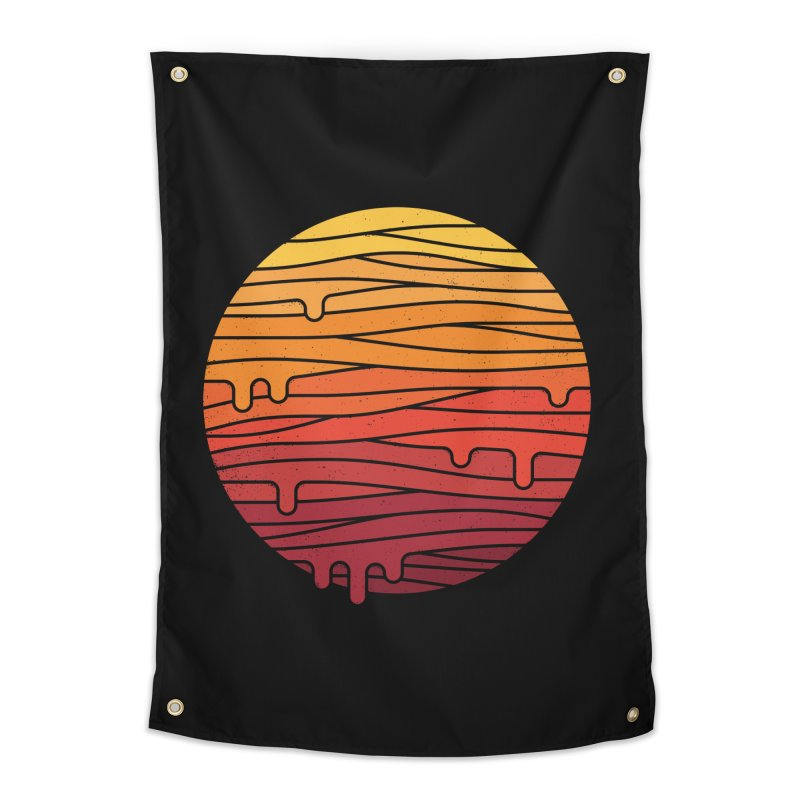 Heat Wave Home Tapestry by thepapercrane's shop