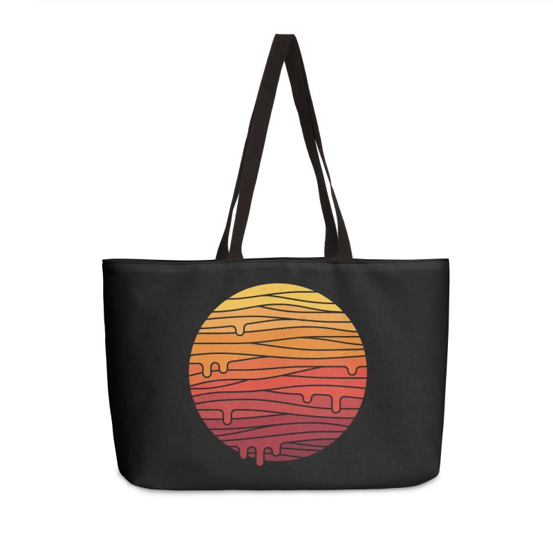 Heat Wave Accessories Weekender Bag Bag by thepapercrane's shop