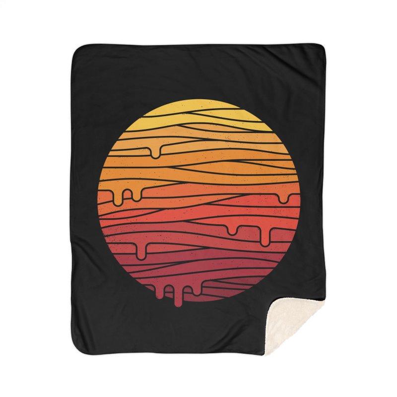 Heat Wave Home Sherpa Blanket Blanket by thepapercrane's shop