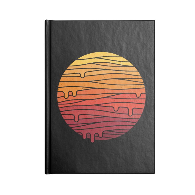Heat Wave Accessories Lined Journal Notebook by thepapercrane's shop