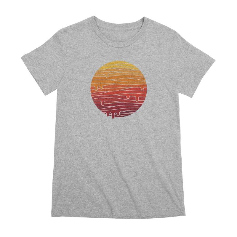 Heat Wave Women's Premium T-Shirt by thepapercrane's shop