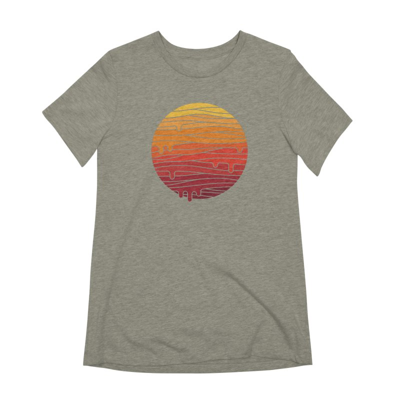 Heat Wave Women's Extra Soft T-Shirt by thepapercrane's shop