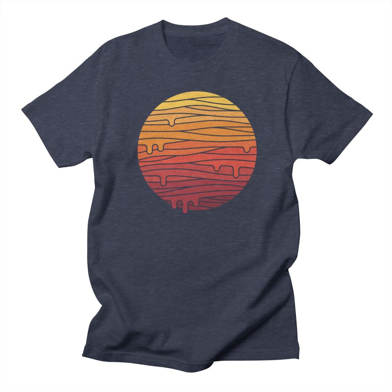 Heat Wave Men's Regular T-Shirt by thepapercrane's shop