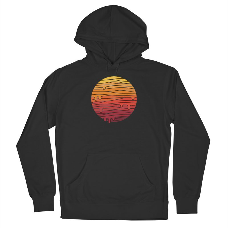 Heat Wave Men's French Terry Pullover Hoody by thepapercrane's shop