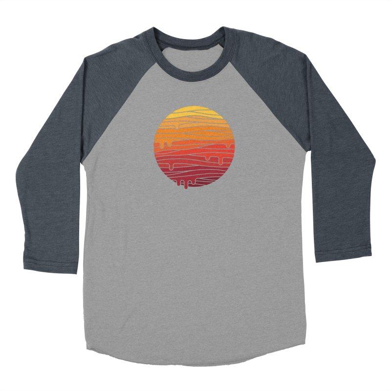 Heat Wave Men's Baseball Triblend Longsleeve T-Shirt by thepapercrane's shop